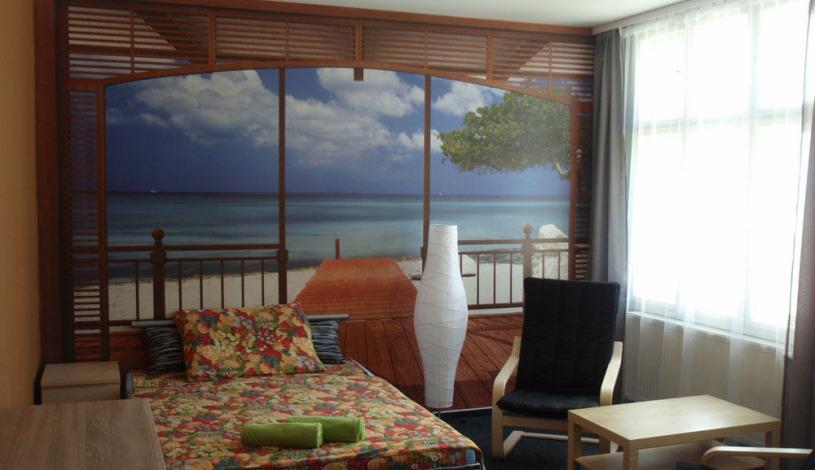 Oáza Resort I. Praha - Zimmer für 3 Personen mit Privatbad