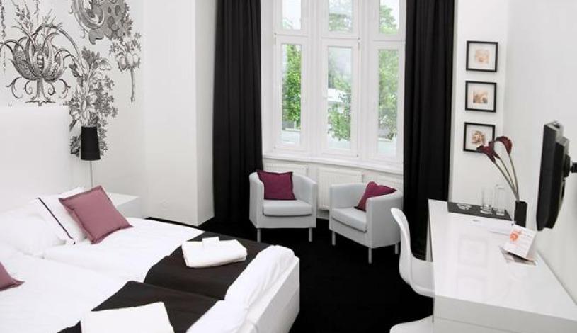 Hotel Apollon Praha - Zweibettzimmer, Einbettzimmer