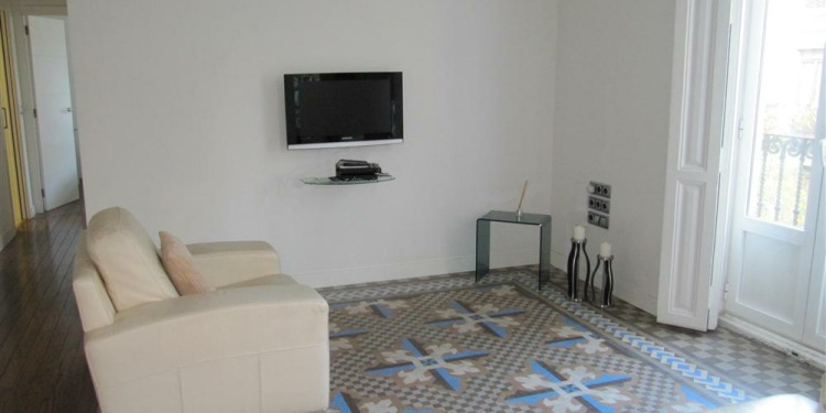 2-bedroom Valencia Benicalap with kitchen for 8 persons