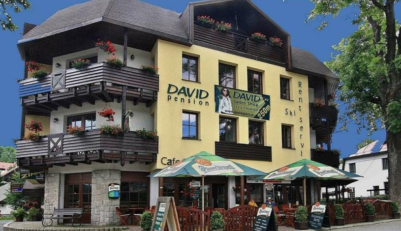 David wellness hotel Harrachov