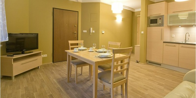 2-bedroom Apartment Sopot with kitchen for 4 persons