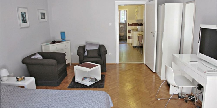 Studio Apartment Beograd Dorćol with kitchen for 2 persons