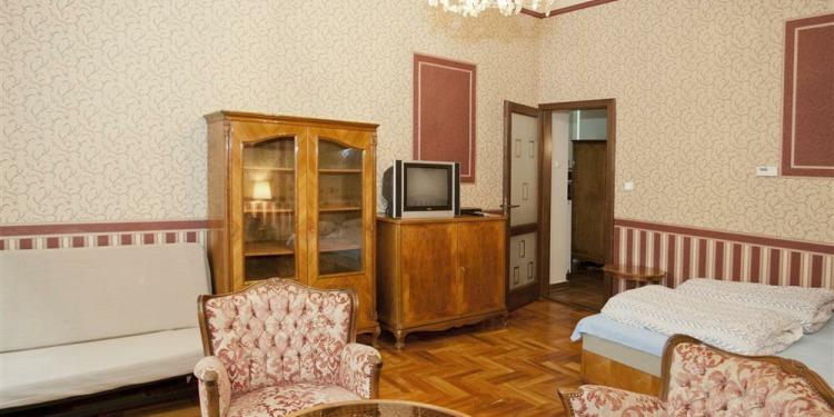 Studio Apartmá v Budapešti Belváros s kuchyní pro 4 osoby