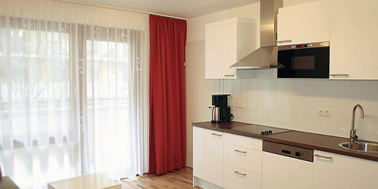 1-bedroom Apartment Wien Brigittenau with-balcony and with kitchen