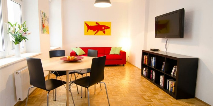1-bedroom Berlin Prenzlauer Berg with kitchen for 5 persons
