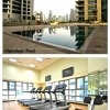 1-bedroom Dubai Dubai Marina with kitchen for 3 persons