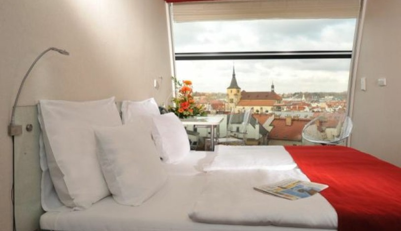 Metropol Hotel Design Prague Praha - Double room with view