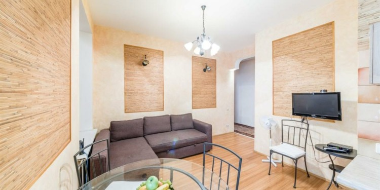 3-bedroom Apartment Sankt-Peterburg Tsentralnyy rayon with kitchen for 10 persons