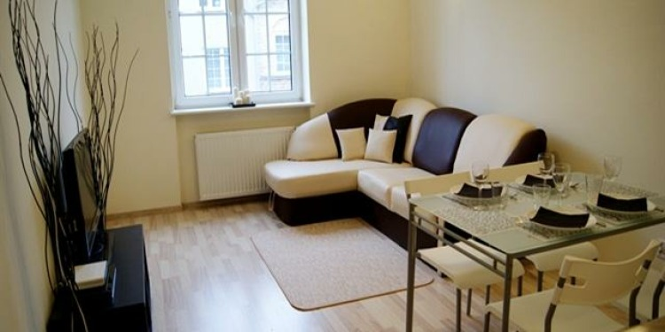 2-bedroom Apartment Gdańsk Downtown with kitchen for 6 persons