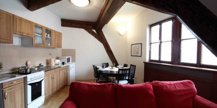 3-bedroom Praha Old Town with kitchen for 12 persons