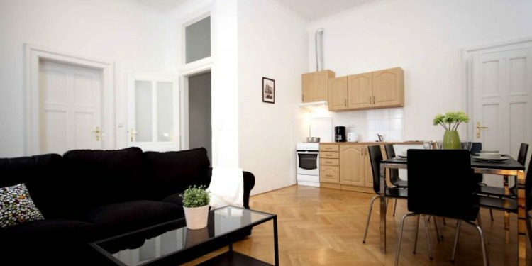 1-bedroom Praha Old Town with kitchen for 6 persons