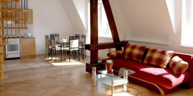2-bedroom Apartment Praha Old Town with kitchen for 8 persons