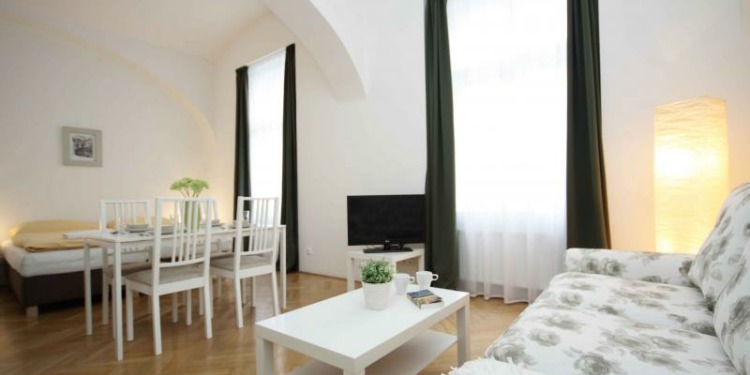 Studio Praha Old Town with kitchen for 4 persons