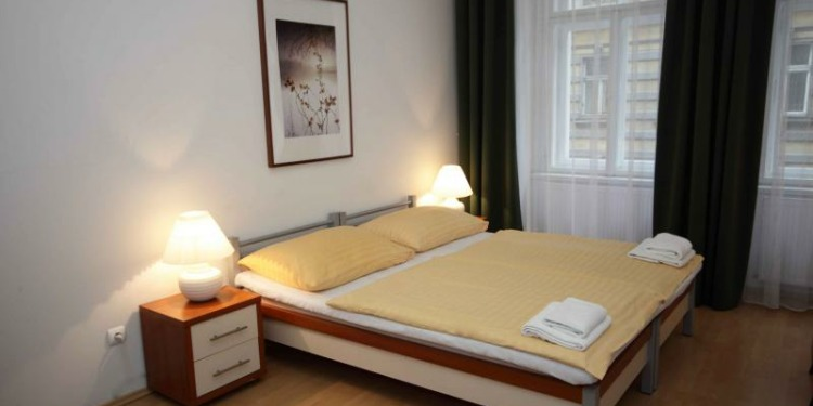 Studio Praha New Town with kitchen for 3 persons