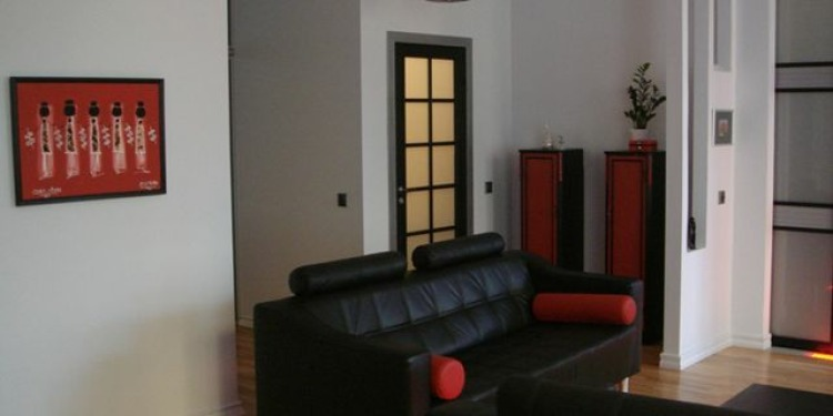 3-bedroom Riga Centrs with kitchen for 2 persons