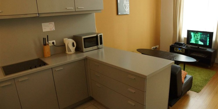 1-bedroom Apartment Brussel Brussels City Centre with kitchen for 4 persons