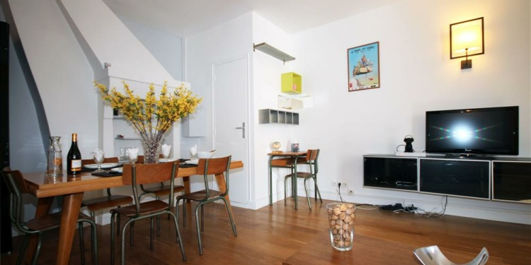 1-bedroom Apartment Paris Roquette with kitchen for 4 persons