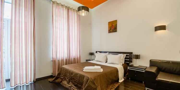 Studio Apartmá v Kyjev Shevchenkivs'kyi district s kuchyní pro 3 osoby