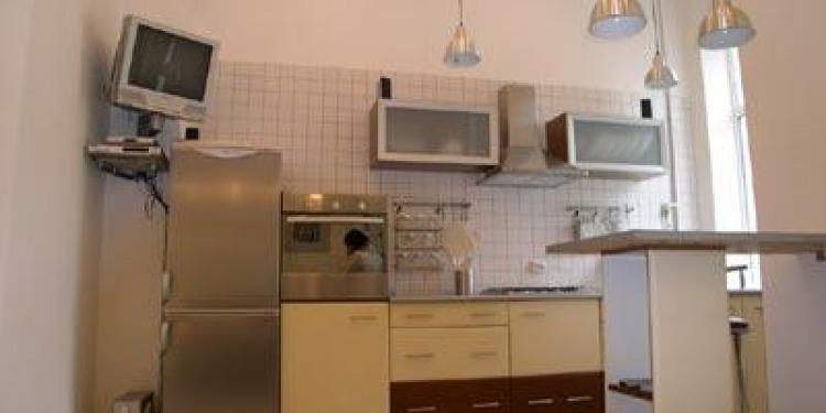 1-ložnicové Apartmá v Kyjev Shevchenkivs'kyi district with-balcony a s kuchyní