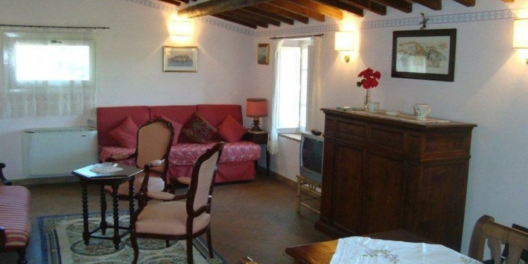 1-bedroom Apartment Perugia San Biagio della Valle with kitchen for 3 persons