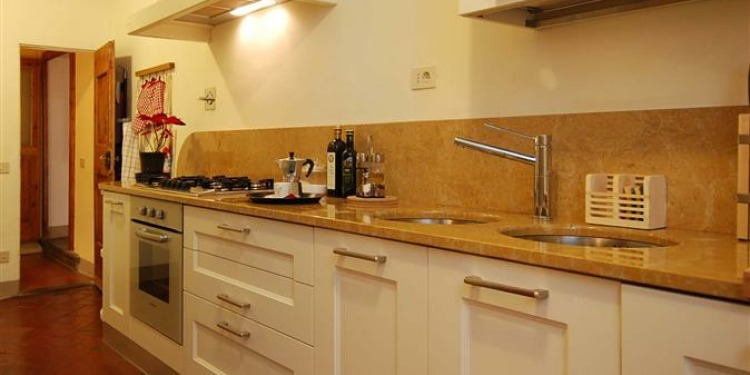 3-bedroom Firenze Santo Spirito with kitchen for 9 persons