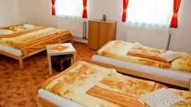 Villa Plischke Lipová-lázně - Dvoulůžkový pokoj, Čtyřlůžkový pokoj