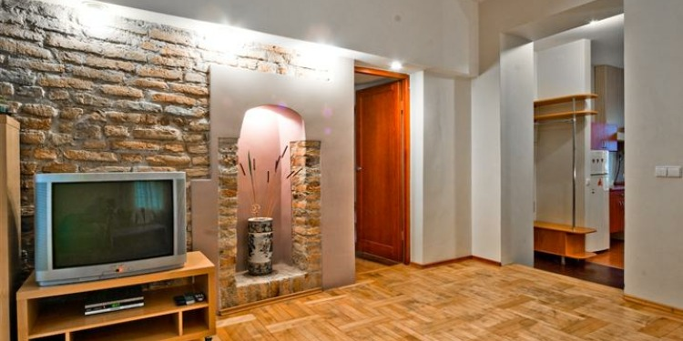 3-bedroom Apartment Vilnius Senamiestis with kitchen for 5 persons