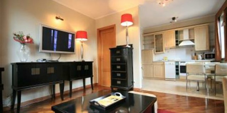 1-bedroom Apartment Wrocław Wrocław-Stare Miasto with kitchen for 6 persons